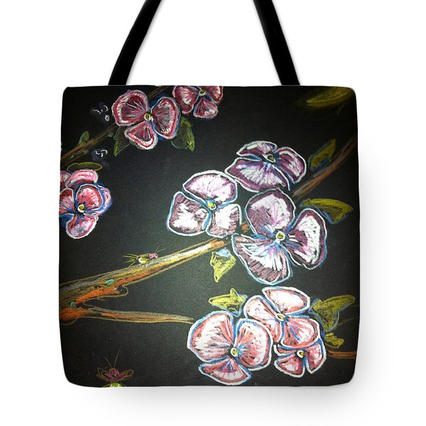 Fireflies And Dogwood Tote Bag