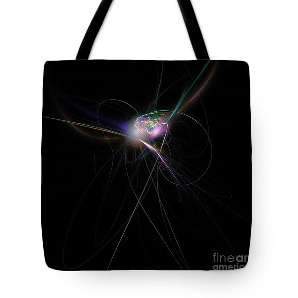 Firefly Scribble  Tote Bag by Elizabeth McTaggart