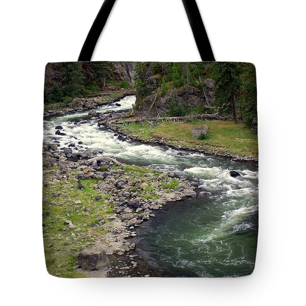 Firehole River 2 Tote Bag by Marty Koch