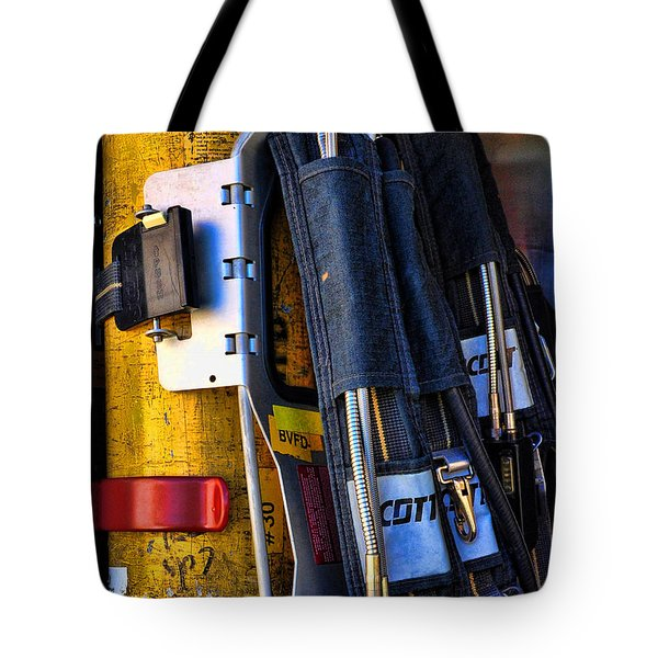 Fireman Gear Tote Bag