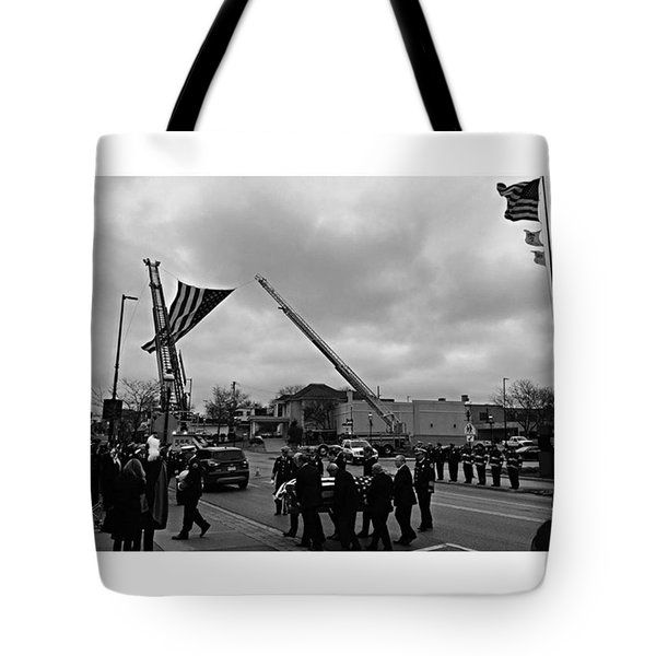 Fireman's Prayer Tote Bag
