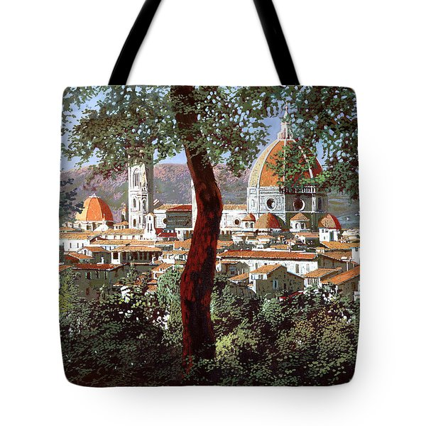 Firenze Tote Bag by Guido Borelli