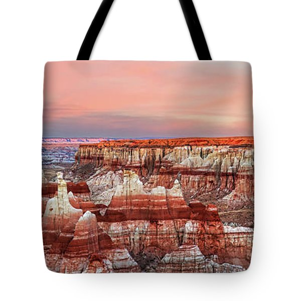 Fire's Crater On Earth Tote Bag