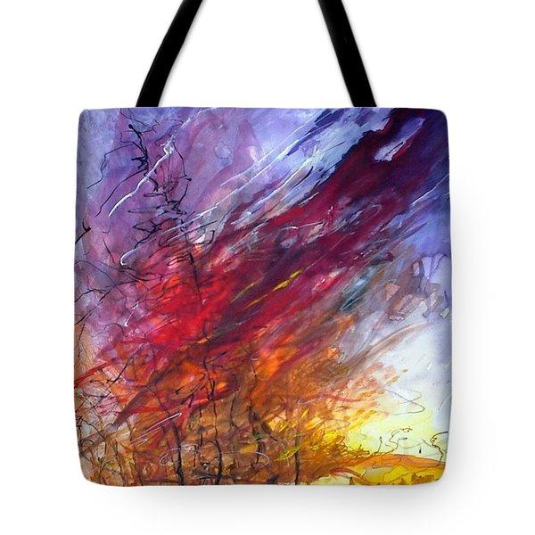 Firescape Tote Bag