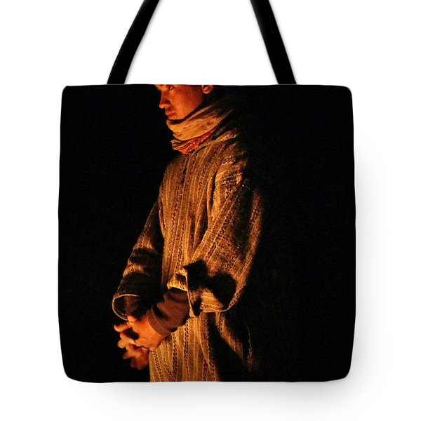 Tote Bag featuring the photograph Fireside by Ramona Johnston