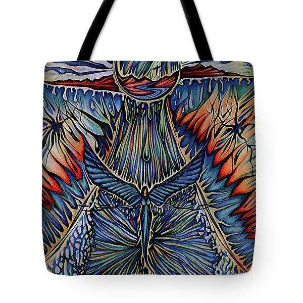 Firesky Tote Bag