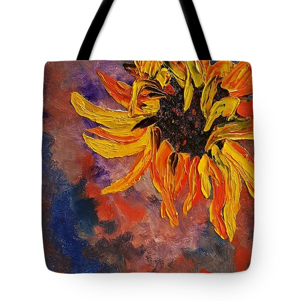 Firespace Flower  27 Tote Bag