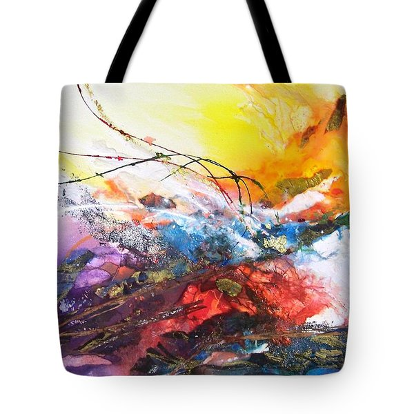 Firestorm Tote Bag