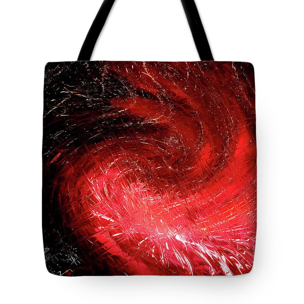 Firestorm Tote Bag by Sheila Ping