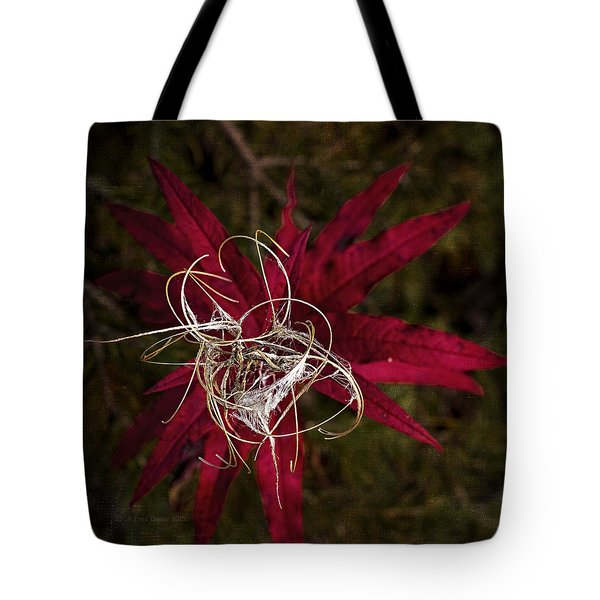 Fireweed Seed Tote Bag