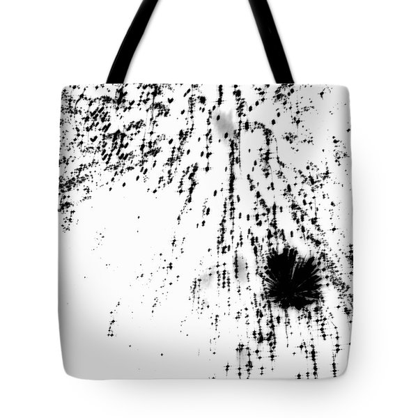 Firework Abstract 8 Tote Bag