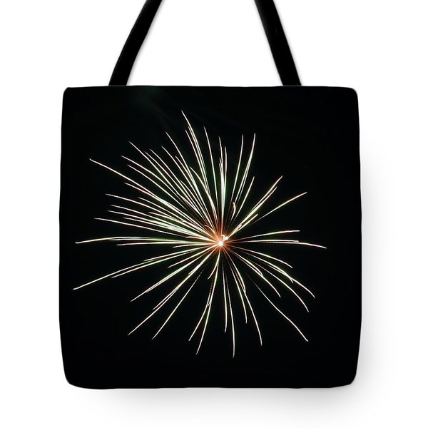 Fireworks 002 Tote Bag by Larry Ward