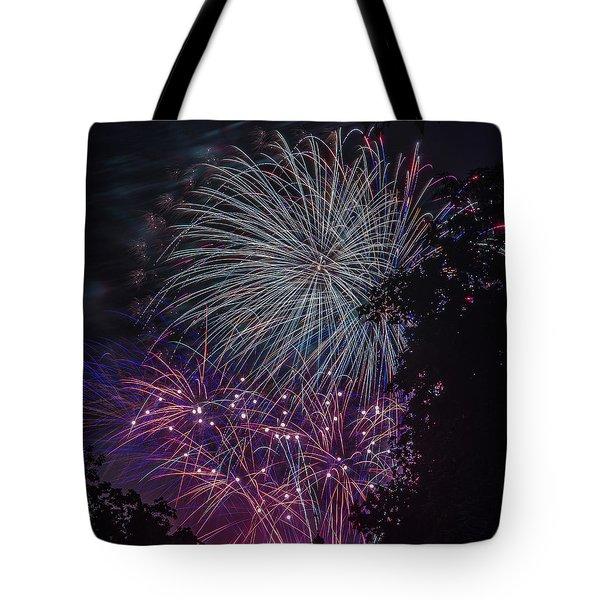 Fireworks 4 Tote Bag
