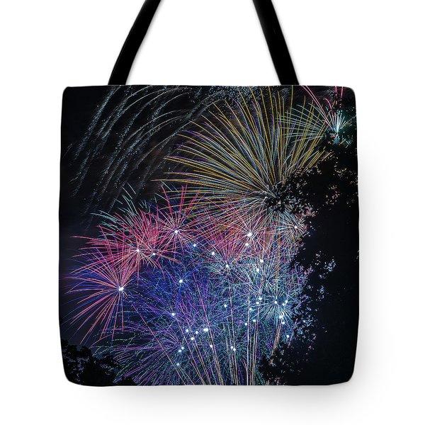 Fireworks 5 Tote Bag