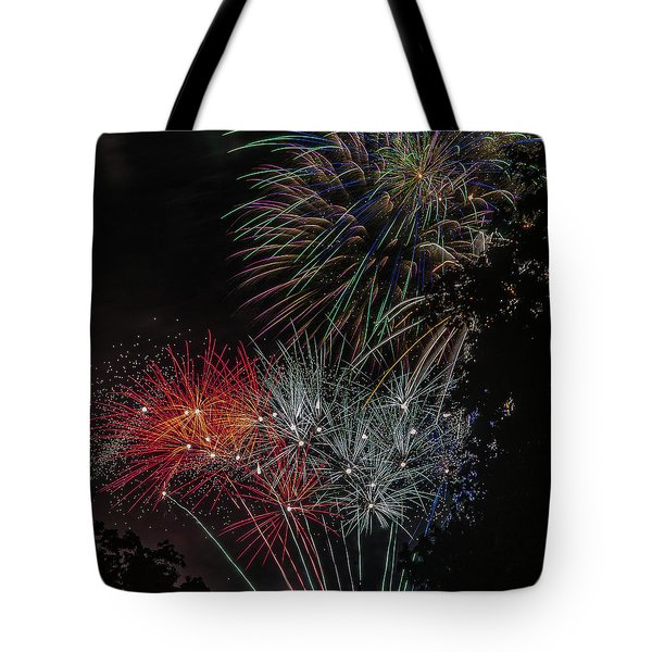 Fireworks 6 Tote Bag