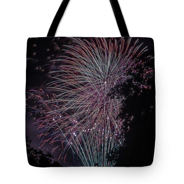 Fireworks 7 Tote Bag