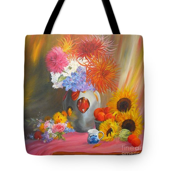 Fireworks Tote Bag by Beatrice Cloake