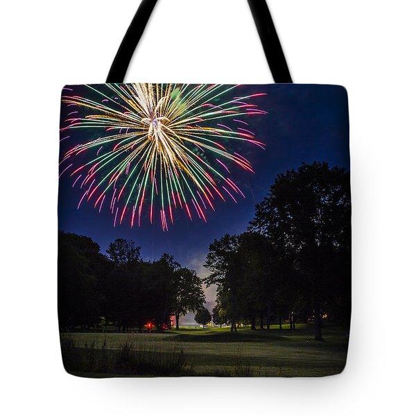 Fireworks Beauty Tote Bag