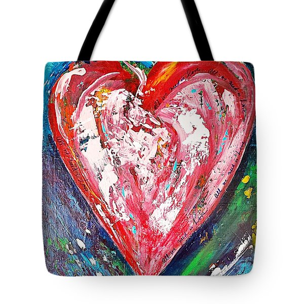 Fireworks Tote Bag by Diana Bursztein