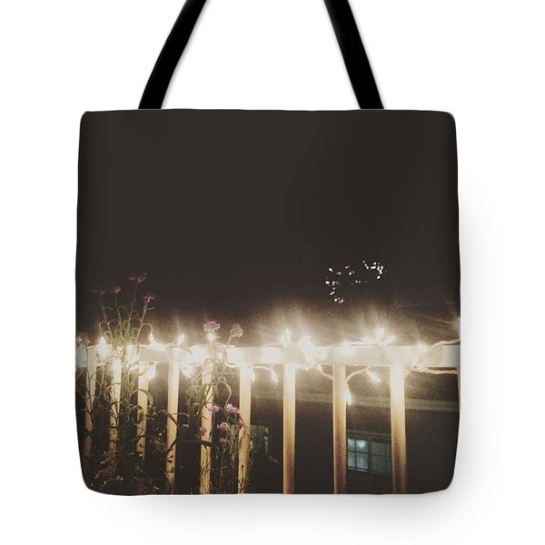 Fireworks Tote Bag by Lily Foist