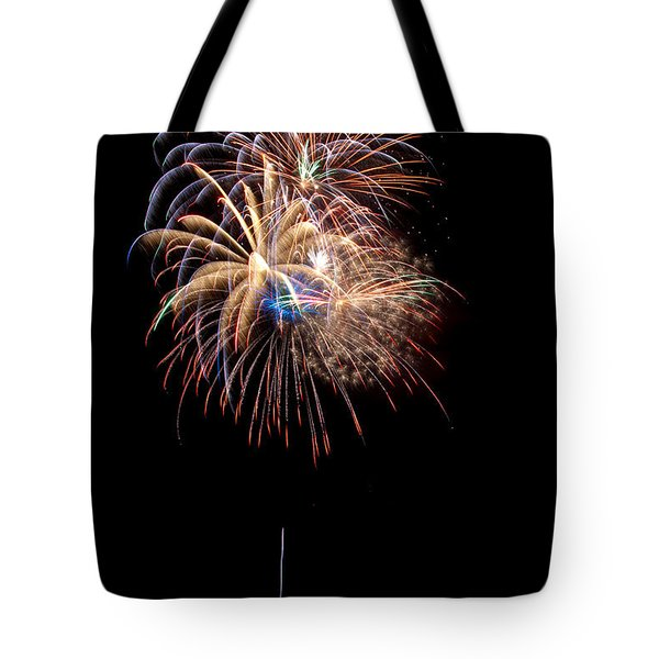Fireworks IIi Tote Bag by Christopher Holmes