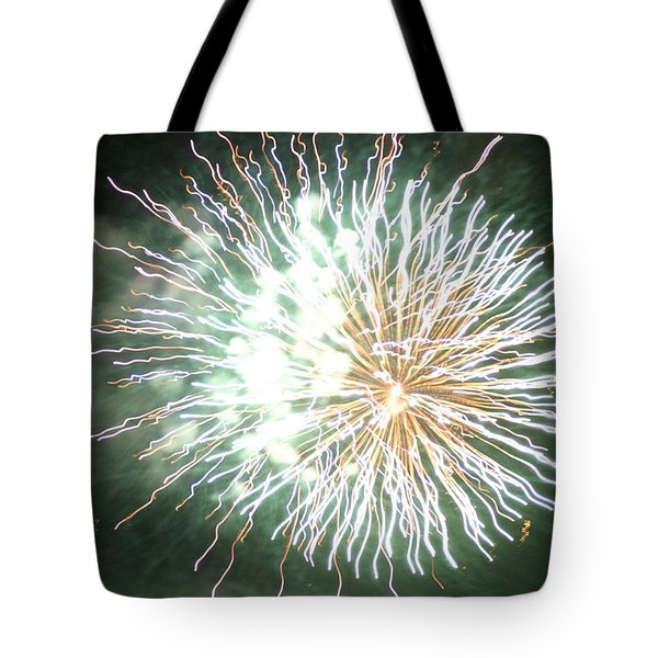 Fireworks In The Park 4 Tote Bag by Gary Baird