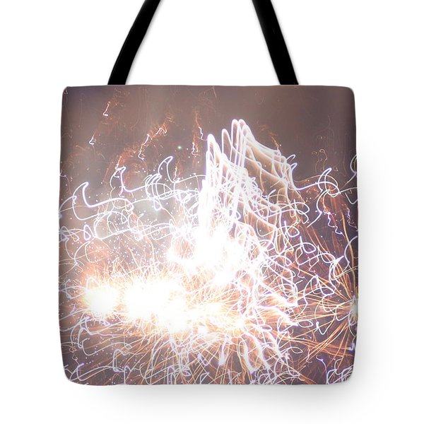 Fireworks In The Park 6 Tote Bag by Gary Baird