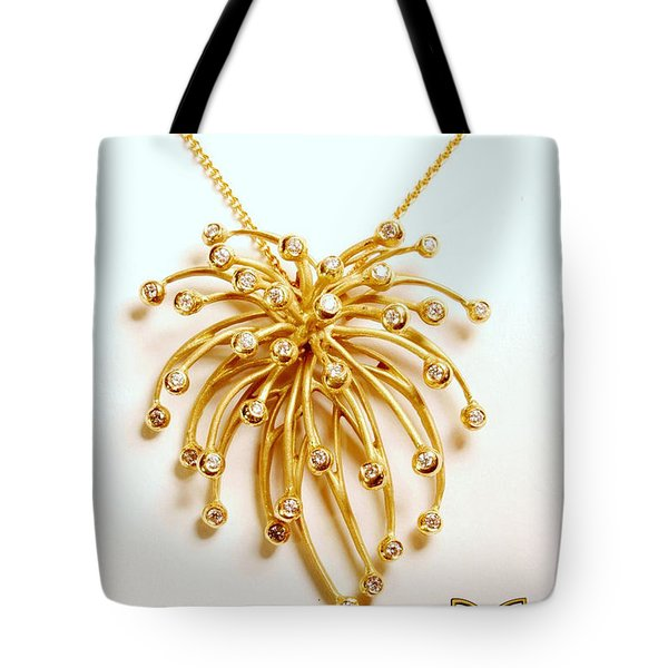 Fireworks On The Day Sky Tote Bag