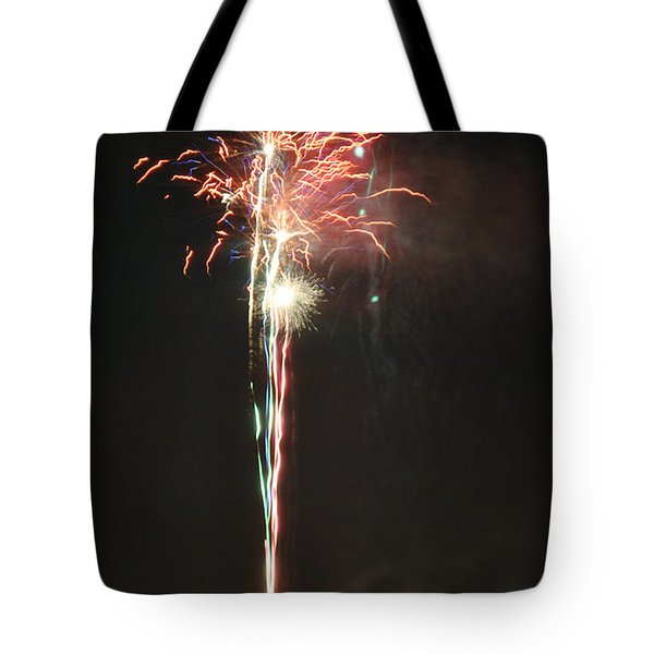 Fireworks On The Lake Tote Bag