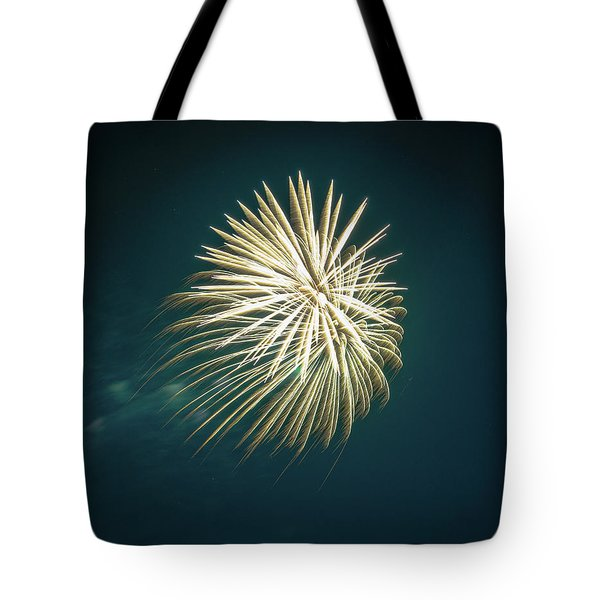 Fireworks Over Texas Tote Bag