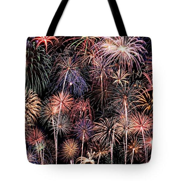 Fireworks Spectacular II Tote Bag