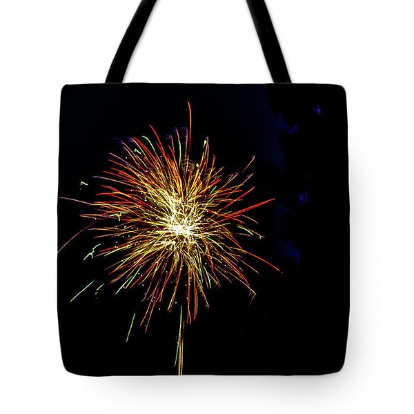 Fireworks Tote Bag by William Norton