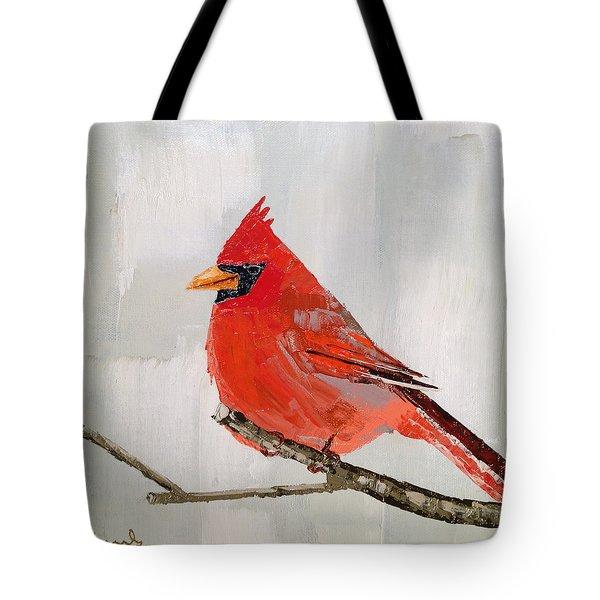 Firey Red Tote Bag