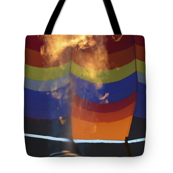 Firing Up Tote Bag