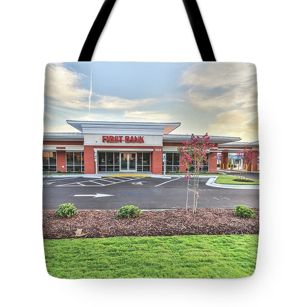 First Bank 4 Tote Bag