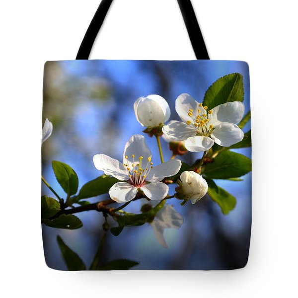 First Blossoms Tote Bag