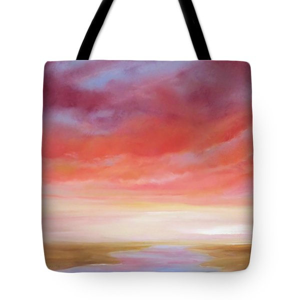 Tote Bag featuring the painting First Blush By V.kelly by Valerie Anne Kelly