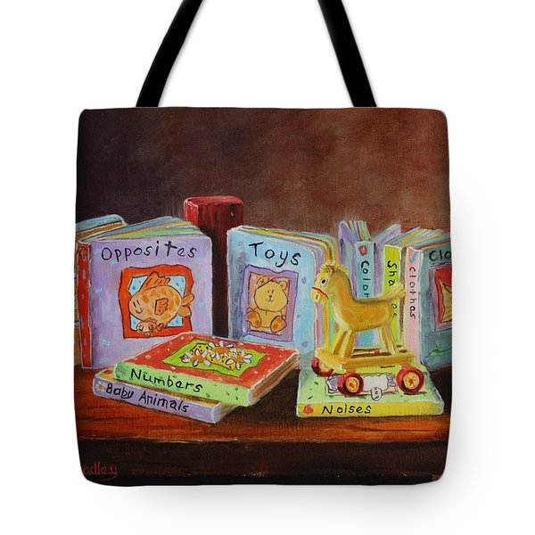 First Books Tote Bag