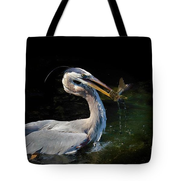First Catch Of The Day Tote Bag by Pamela Blizzard