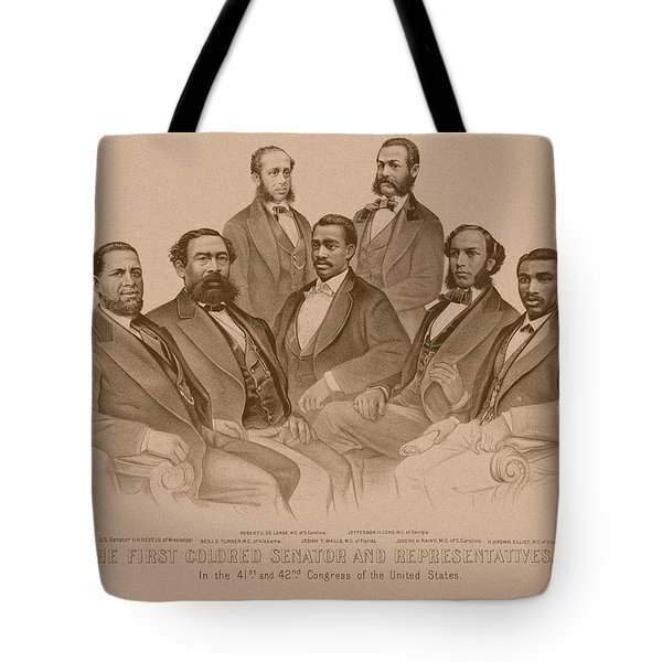 First Colored Senator And Representatives Tote Bag