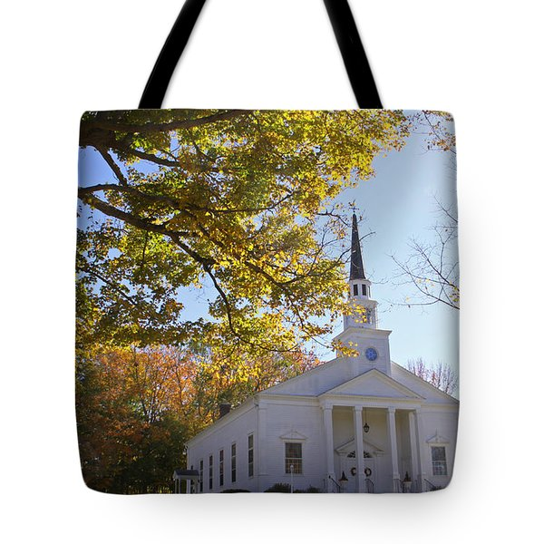 First Congregational Canterbury Tote Bag