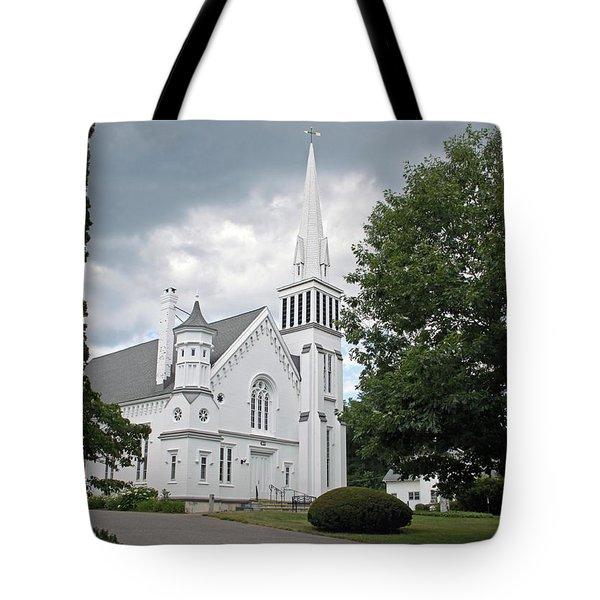 First Congregational Church Of Kent Tote Bag