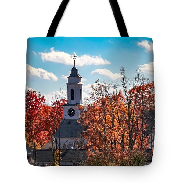 First Congregational Church Of Southampton Tote Bag