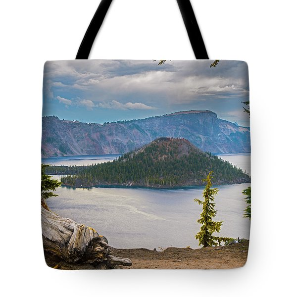 First Crater View Tote Bag