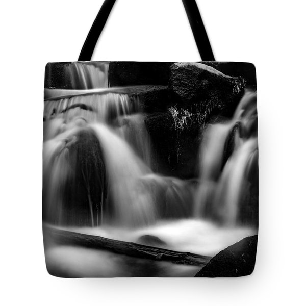 first crystals on the Bodefall, Harz Tote Bag