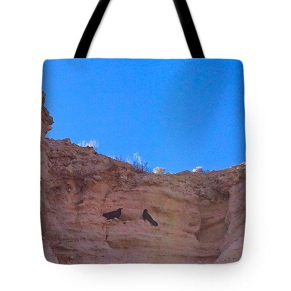 First Date Tote Bag by Brenda Pressnall