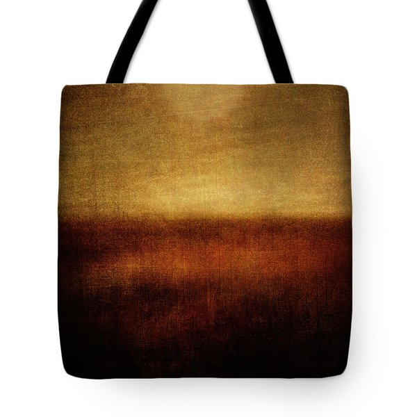 First Encounter Tote Bag