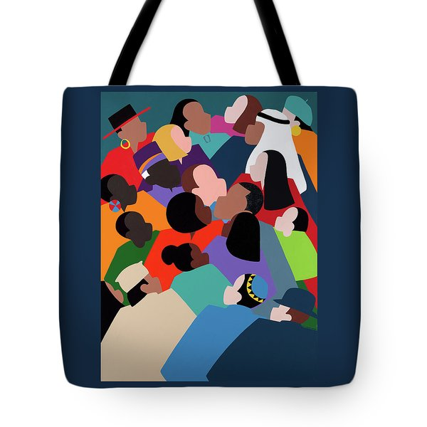 First Family The Obamas Tote Bag
