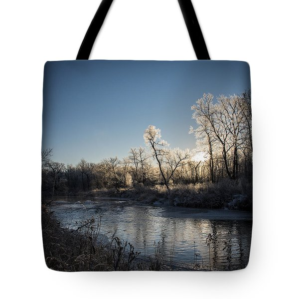 First Frost Tote Bag by Annette Berglund
