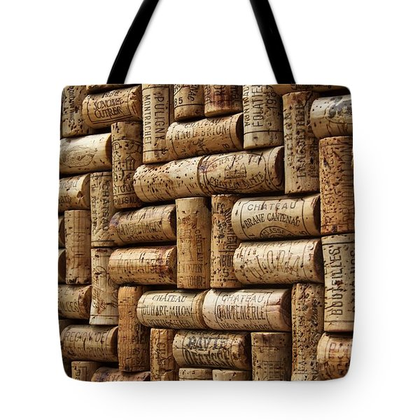 First Growths Of Bordeaux Tote Bag by Anthony Jones